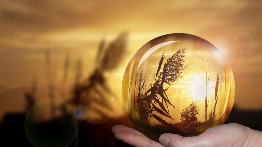 Future, crystal ball